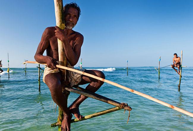 Ahangama - Stilt Fishermen