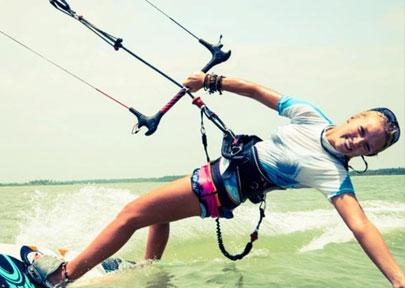 Kalpitiya - Kitesurfing